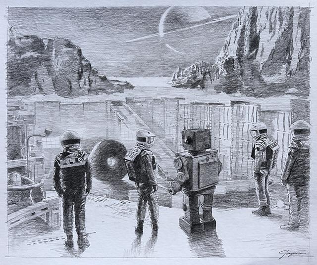 , '2018 A Space Odyssey,' , Corey Helford Gallery