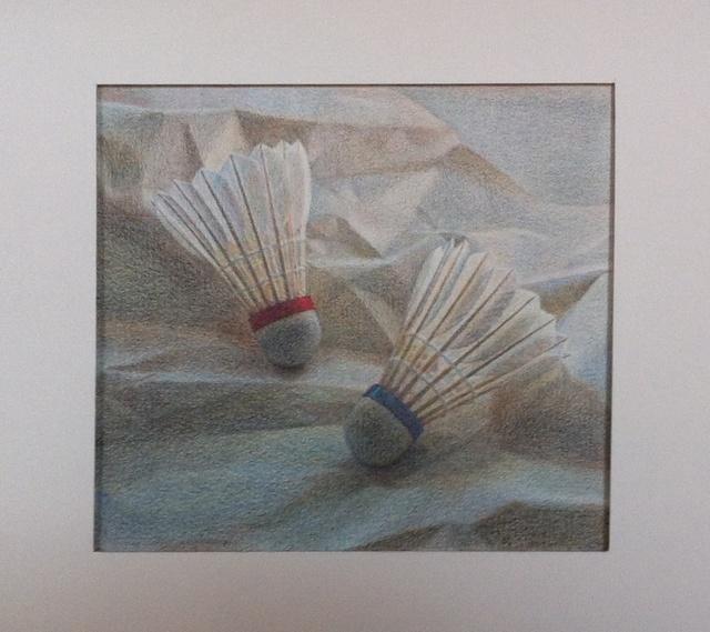 Lucy Mackenzie, 'Two Shuttlecocks', 2013, Nancy Hoffman Gallery