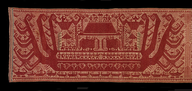 , 'Ceremonial textile (detail),' 1652-1806, Fowler Museum at UCLA