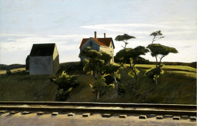 Edward Hopper, 'New York, New Haven and Hartford,' 1931, Indianapolis Museum of Art