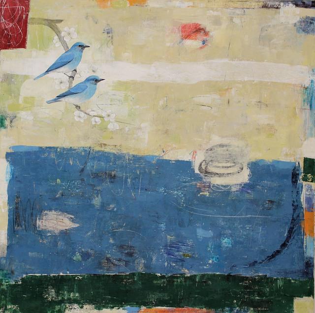 , 'Out of the Blue (Mountain Bluebirds),' 2017, Patricia Rovzar Gallery