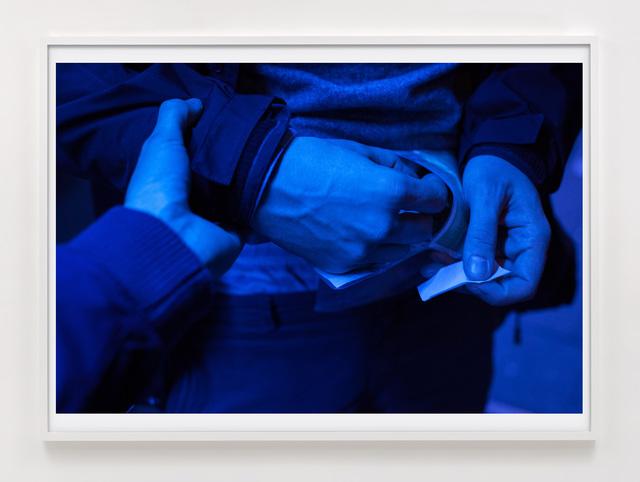 Paul Hutchinson, 'Pueblo blau', 2015, Photography, Inkjet print, Sies + Höke