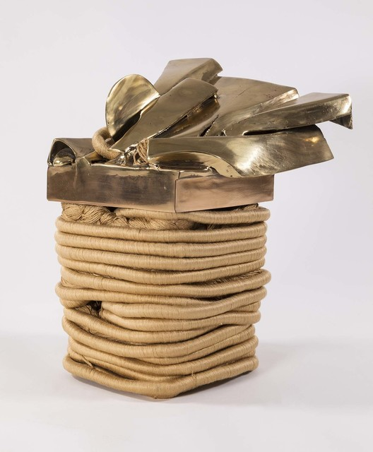 , 'Zanzibar Table Gold,' 1972, Michael Rosenfeld Gallery