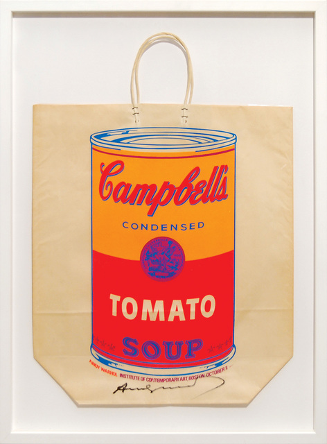 Andy Warhol, 'Campbell's Soup Can (Tomato).', 1966, Peter Harrington Gallery