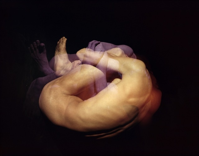 , 'Untitled (curled up man), from the series Color Approach,1962,' , Benrido