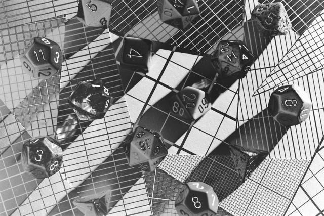 , 'Dice Grid,' 2015, HARPY