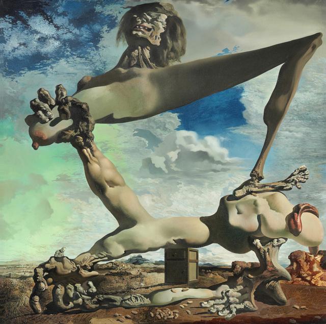 Salvador Dalí, 'Soft Construction with Boiled Beans (Premonition of Civil War)', 1936, Philadelphia Museum of Art