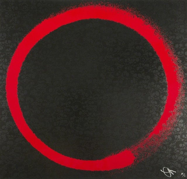 Takashi Murakami, 'Enso: Earthly Desires', 2016, Lougher Contemporary