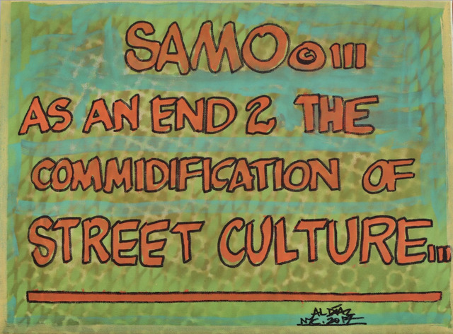 , 'SAMO© As An End 2 The Commodification of Street Culture,' 2018, FF-1051 Gallery