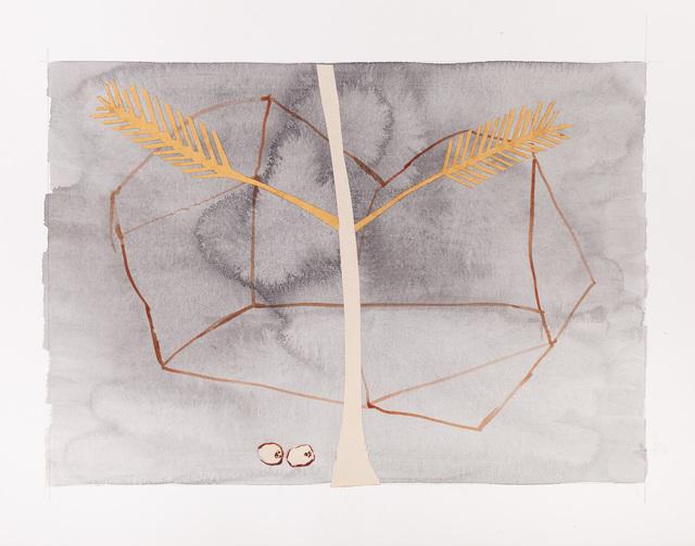 Onajide Shabaka, 'two coconuts on a footpath to pikilio', 2017, Emerson Dorsch