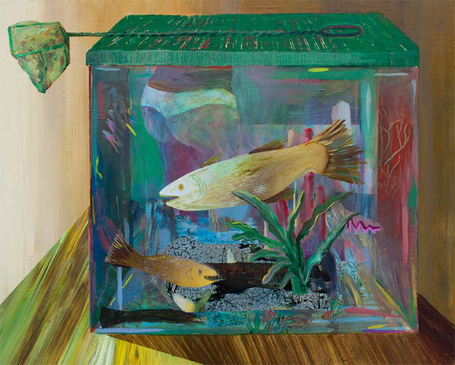 , 'Yellow Fish,' 2016, HATHAWAY | Contemporary Gallery