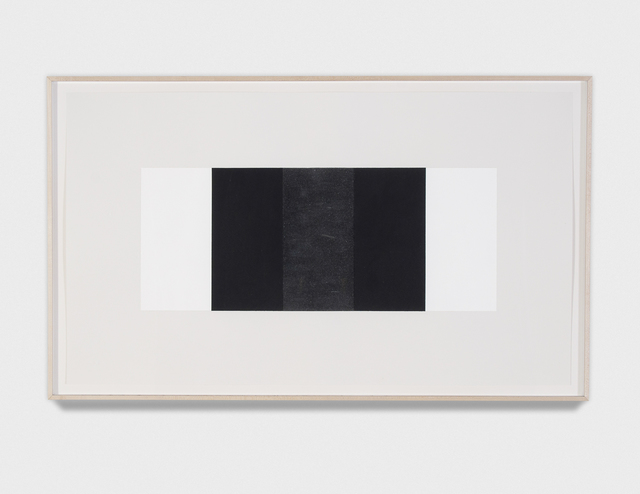 , 'Untitled (Black vertical Band, Black Outer Bands) ,' 2001, NYEHAUS