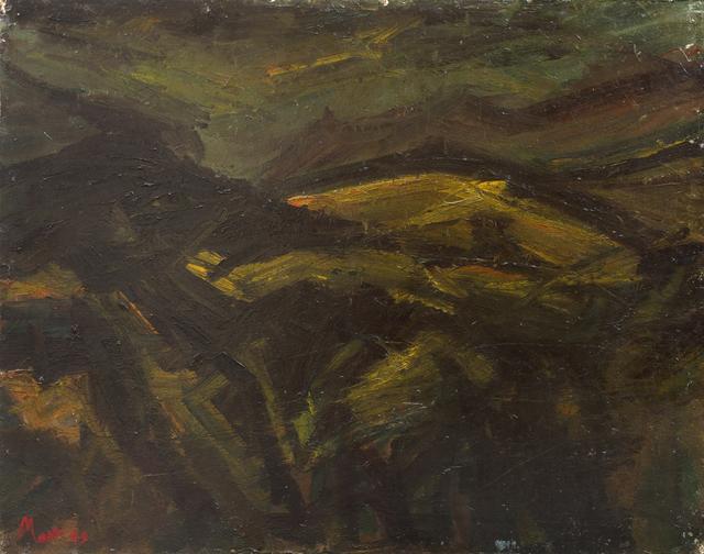 , 'Landscape near Beddgelert,' 1949, Piano Nobile
