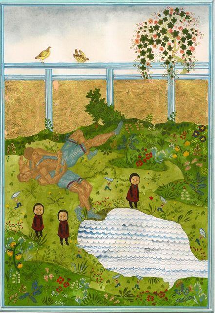 , 'Gutwrench Suplex and Three Baby Pilis,' 2012, John Wolf Art Advisory & Brokerage