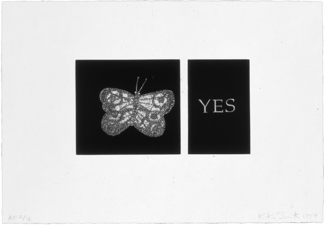 , 'Yes,' 1997, Universal Limited Art Editions