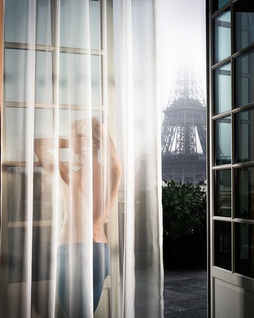 David Drebin, 'Girl In Paris', 2012, Photography, Digital C-Print on Archival Paper, Isabella Garrucho Fine Art