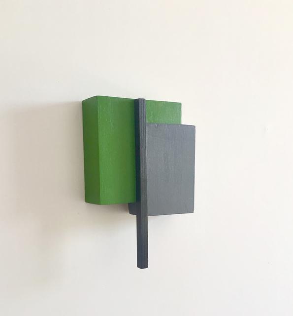 , 'Estructura 1 (verde),' 2018, Galería La Caja Negra