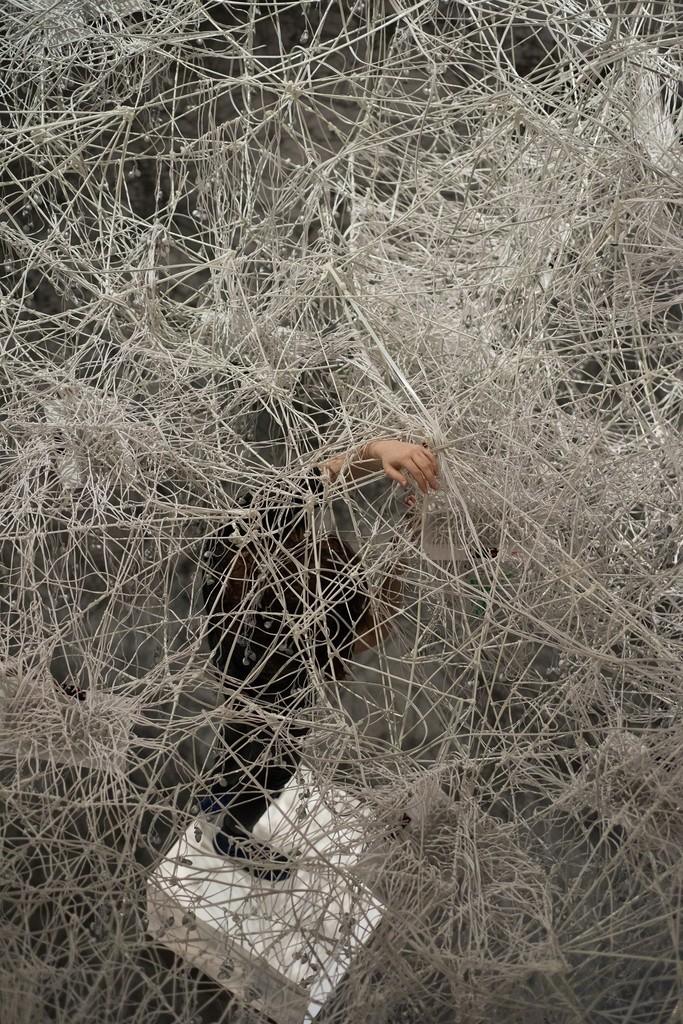 Maya Dunietz, Sound Requires a Medium, 2015, CCA. Photo by Youval Hai.