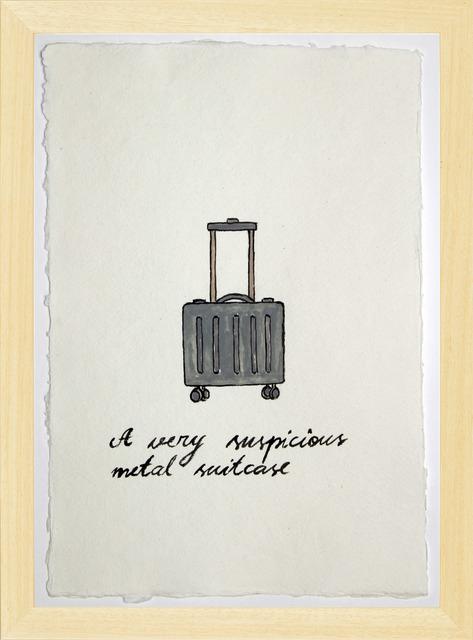 , 'Suspicious Bags: Metal Suitcase,' 2018, Temnikova & Kasela
