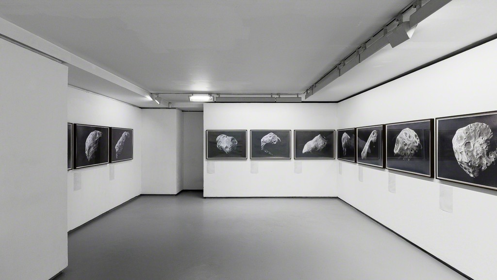 "Exhibition view, ""Albedo"" a special project by Nicolas Moulin. © Photo: Grégory Copitet - Courtesy of the artist and Valentin, Paris."