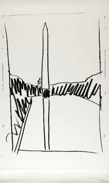 Andy Warhol, 'Washington Monument', 1974, Rago