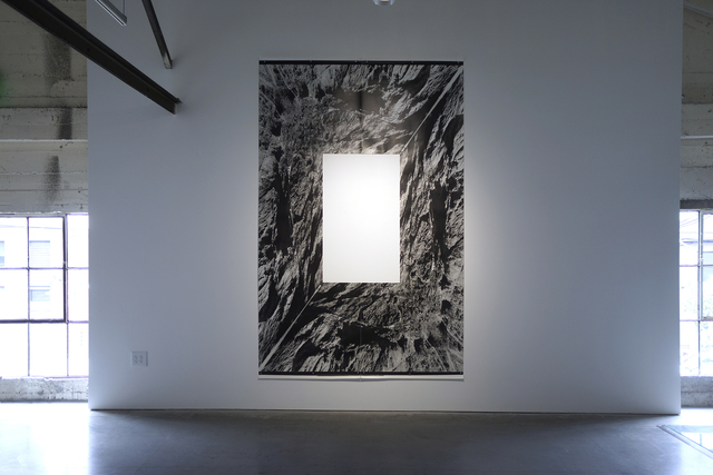 John Roloff, 'Landscape Projection (for and Unknown Window) No. 8 (cliff)', 2001, Anglim Gilbert Gallery