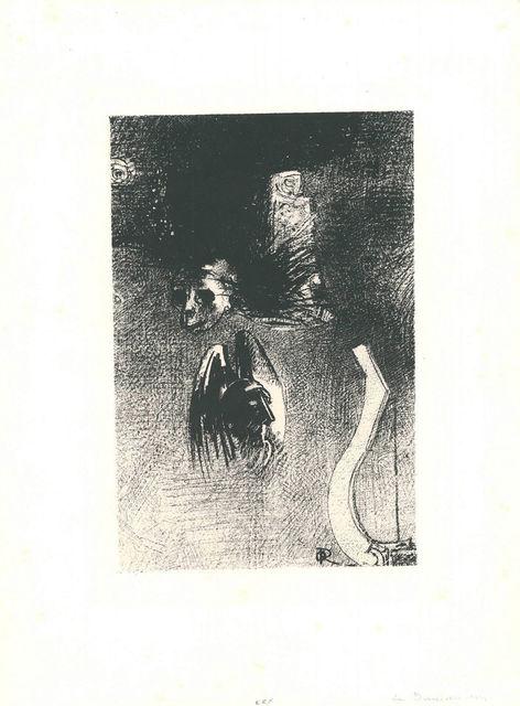 Odilon Redon, 'La damnation de l'artiste', 1889, Sylvan Cole Gallery