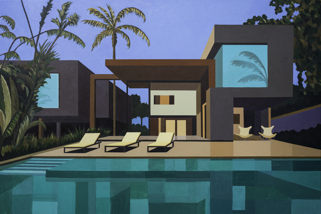 , 'Tropical House,' 2019, Cynthia Corbett Gallery
