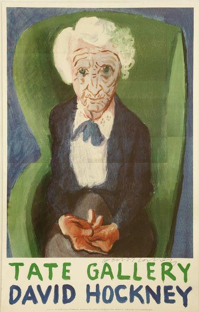 David Hockney, 'My Mother (Bridlington)', 1988, Sworders