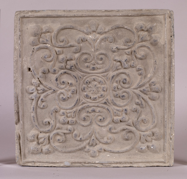 , 'Floor tile,' Tang dynasty (618–907 CE), China Institute Gallery