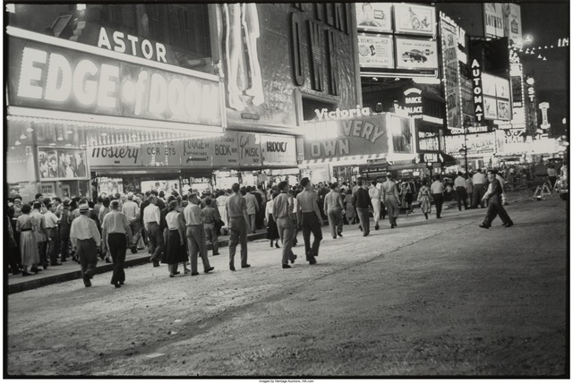 Louis Faurer, 'Repaving Times Square, New York City', 1949, Heritage Auctions