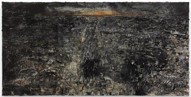 Anselm Kiefer, 'Nigredo-Morgenthau', 2012, Mixed Media, Emulsion and acrylic on photograph on canvas, Gagosian