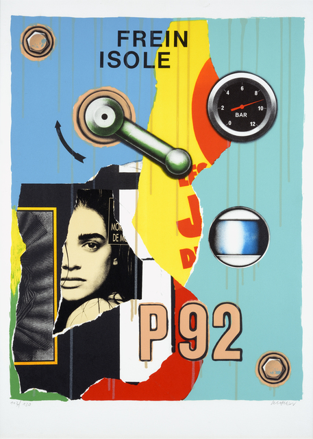 Peter Klasen, 'Frein Isolé- P92', DIGARD AUCTION