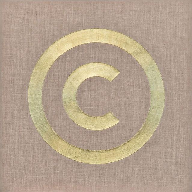 , 'Copyright (Blue) #1,' 1987-1988, Mai 36 Galerie