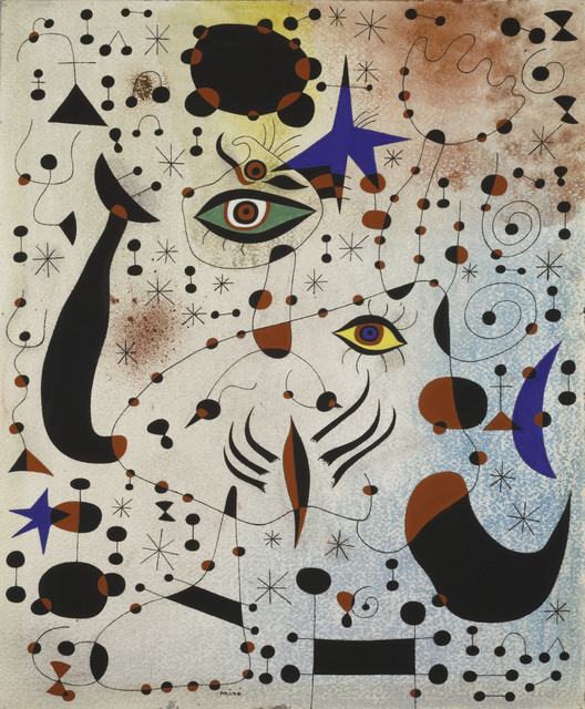 Joan Miró, 'Ciphers and Constellations in Love with a Woman', 1941, Art Institute of Chicago