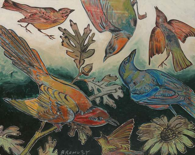 , 'Birds in Flight,' 2015, Caldwell Snyder Gallery