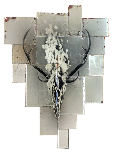 , 'Deer Mirror,' 2012, MA2Gallery