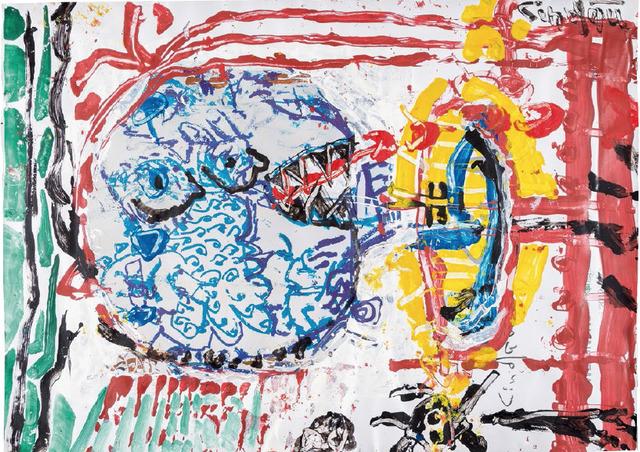 , 'der trompeter von jericho,' 2014, galerie burster