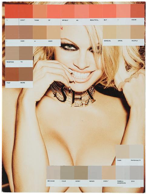 , 'Pamela Anderson, Playboy 2016,' 2017, Lawrence Alkin Gallery
