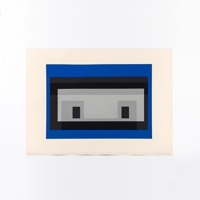 Josef Albers, 'Variant MMA-3', 1970, Print, Color silkscreen on Arches paper, Caviar20