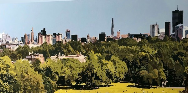 , 'The City from Primrose Hill, London,' 2020, TAG Fine Arts
