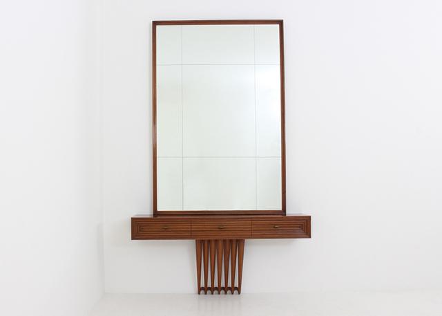 Osvaldo Borsani, 'Consolle with mirror by Osvaldo Borsani', 1941, Dimoregallery