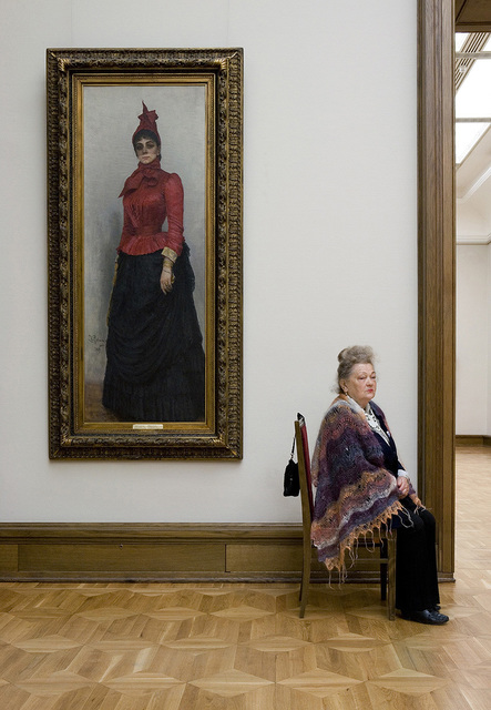 , 'Repin's Portrait of Baroness Varara Ivanovna Ikskul van Hildenbandt, State Tretyakov Gallery,' 2008, Patricia Conde Galería