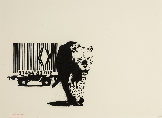 Banksy, 'Barcode', 2004, Forum Auctions