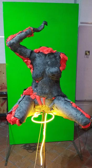 , 'Untitled,' 2017, Barro
