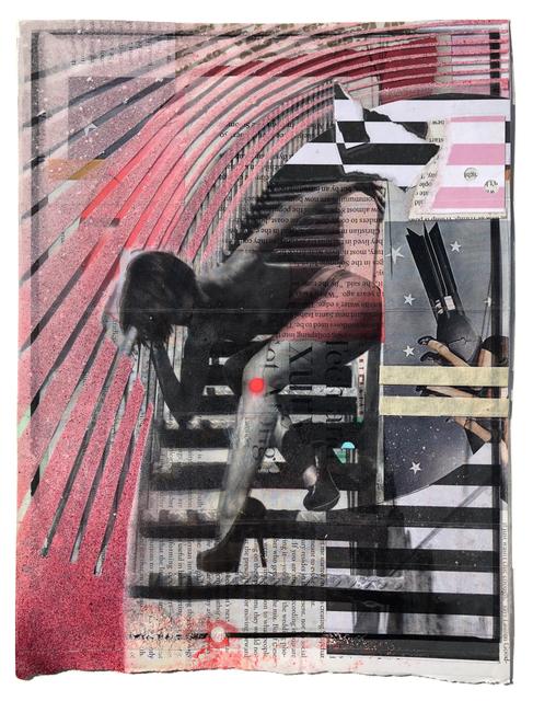 , 'Skin Diamond (Collage Study),' 2018, Coagula Curatorial