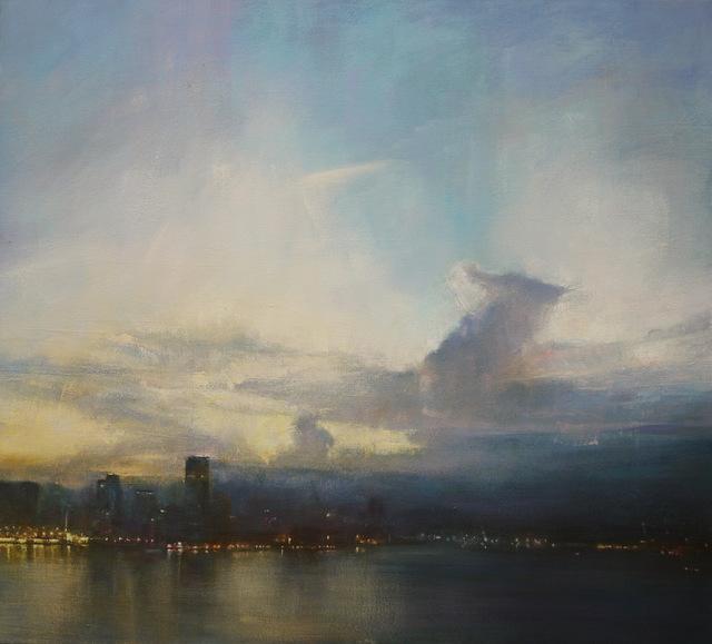 Benjamin Warner, 'Early Evening, Hong Kong Harbour', 2019, Tanya Baxter Contemporary