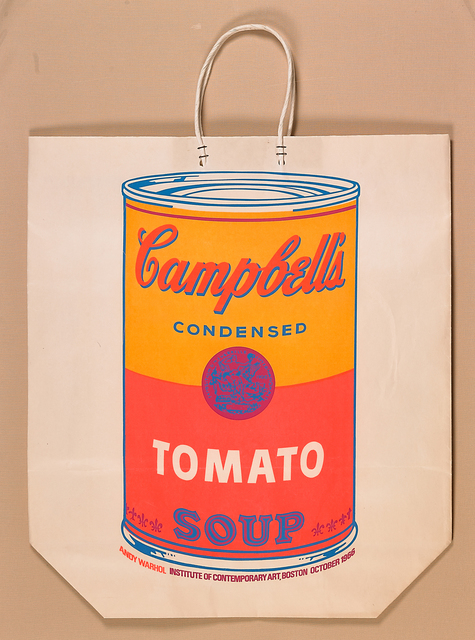 Andy Warhol, 'Campbell's Soup Can on Shopping Bag', 1966, Rago