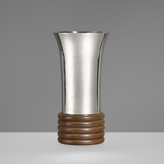 Jean E. Puiforcat, 'Vase', Rago/Wright