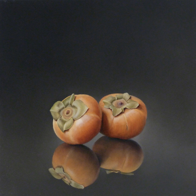 , 'Two Persimmons,' 2015, Lora Schlesinger Gallery